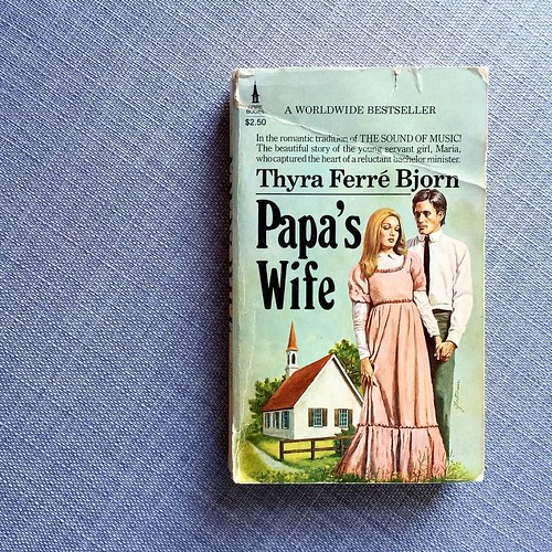 Papa's Wife by Thyra Ferre Bjorn // A story about a young 18 year old girl who becomes the housekeeper to a Swedish pastor, marries him, and has a handful of children. One that I fondly remember reading as a teen and haven't picked up in years! I just rem