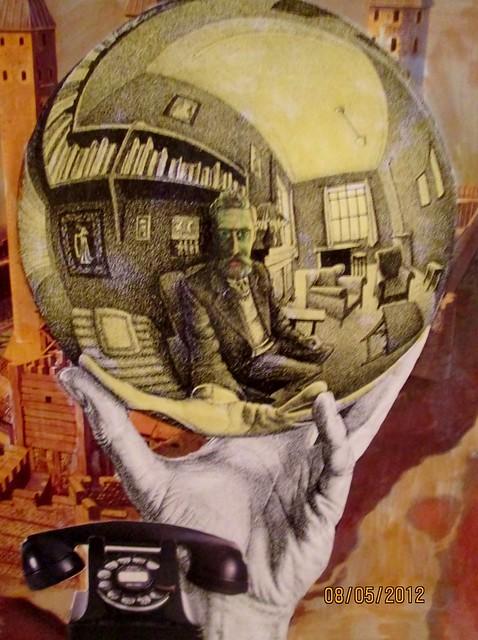 Gazing Into Infinity : An Homage to Escher
