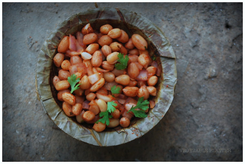 Boiled Masala Peanuts