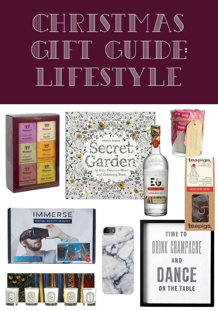Christmas Gift Guide: Lifestyle