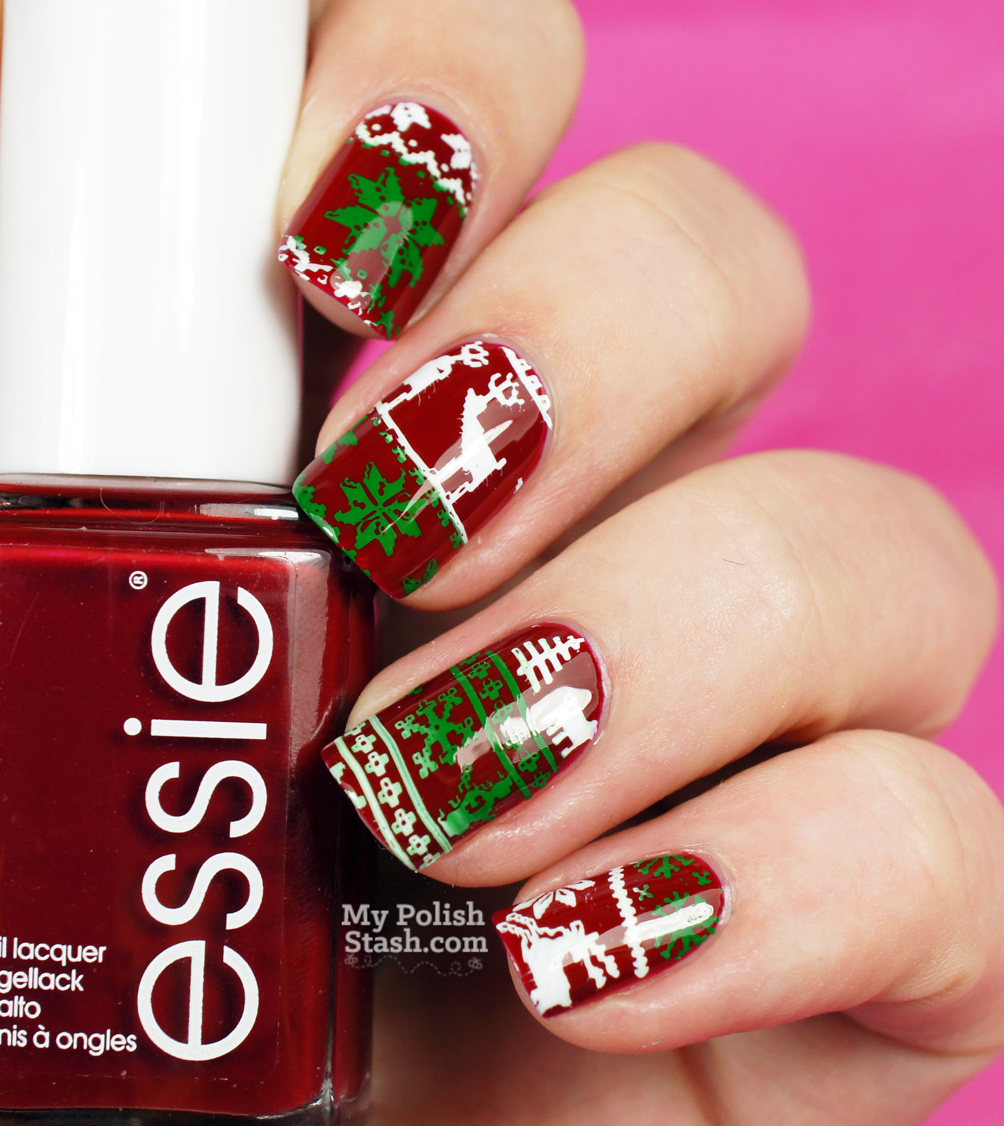 ugly-christmas-sweater-nails-2