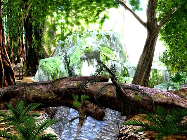 Enchanted Dreams - Linearzed Tree Fallen In A Quiet Woods