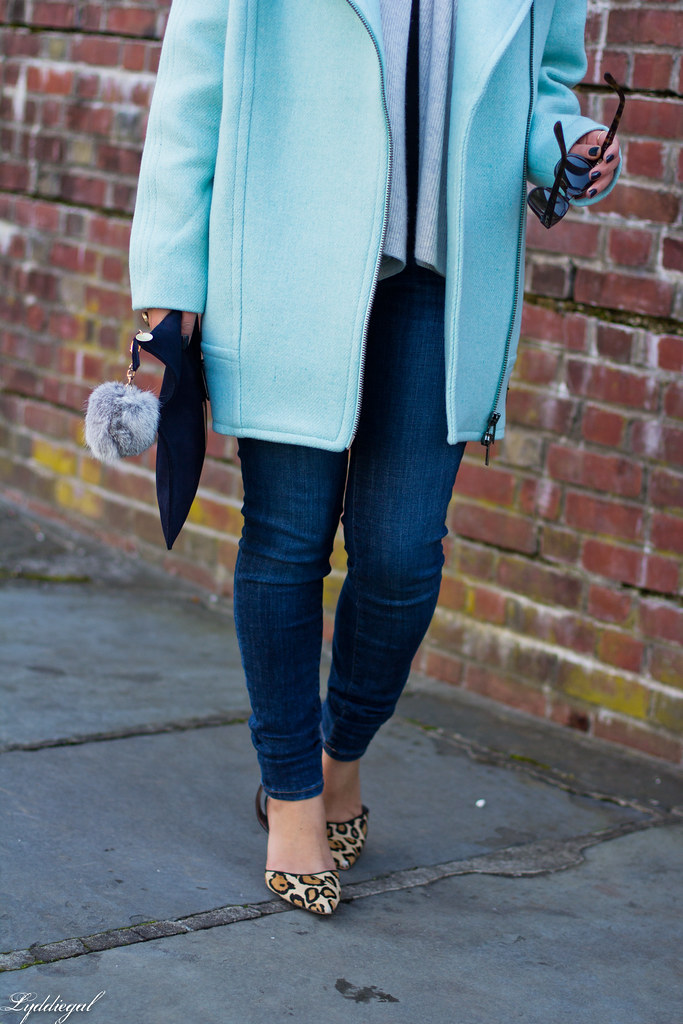 mint cocoon coat, grey scarf, leopard pumps-5.jpg