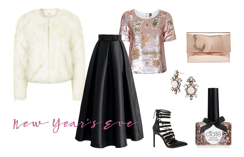 Not Dressed As Lamb | New Year's Eve outfit