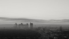 Dallas, looking quite surreal this morning. 122215