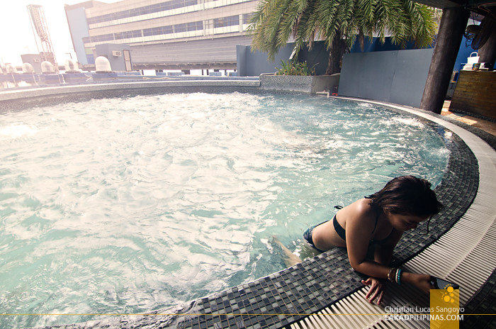Hotel H2O Swimming Pool Manila