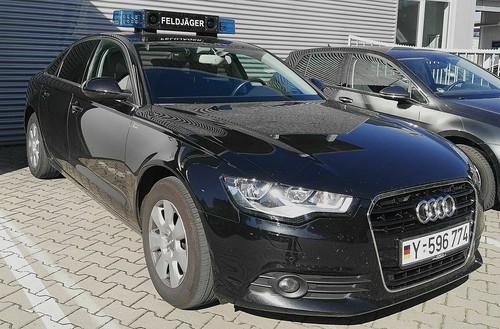 Auch Feldjäger fahren Audi