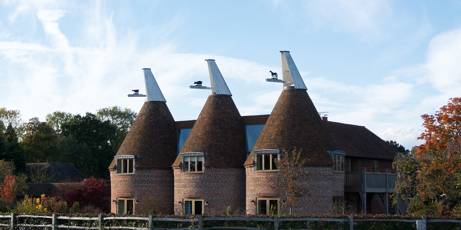 Oast Houses Robertsbridge Circular