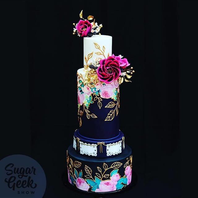 Wedding Cake by Sugar Geek Show