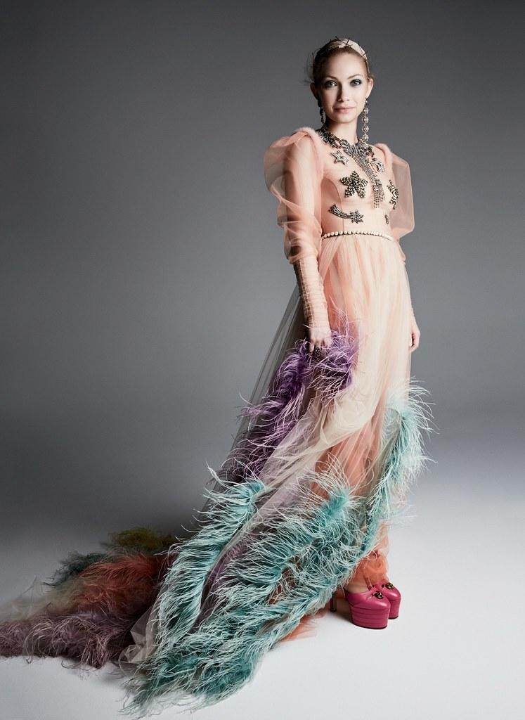 Тави Гевинсон — Фотосессия для «Glamour» 2016 – 1