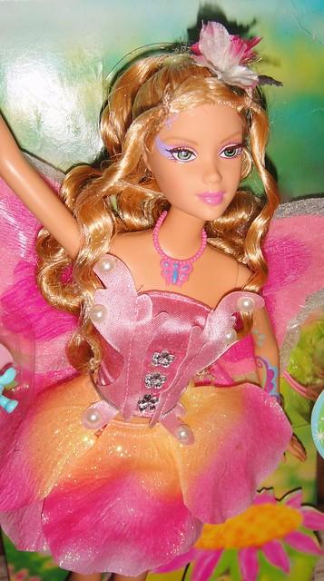 2005 Barbie Fairytopia Elina Doll (Pink Box Restyled) (4)