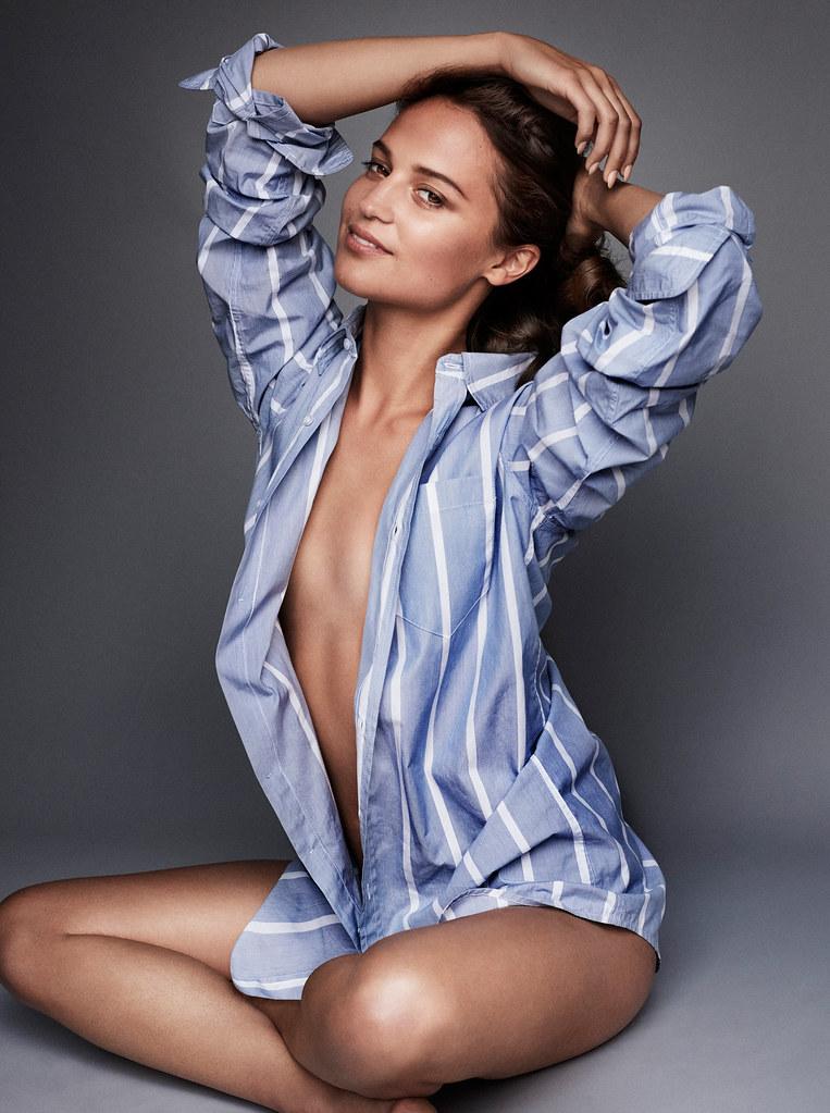 Алисия Викандер — Фотосессия для «Vanity Fair» 2016 – 9