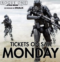 Who's ready to keep hitting refresh in order to get your #starwars #tickets? Good luck and enjoy. #lucasfilm #disney #rogueone #movies #presale #geekculture #constantcollectible