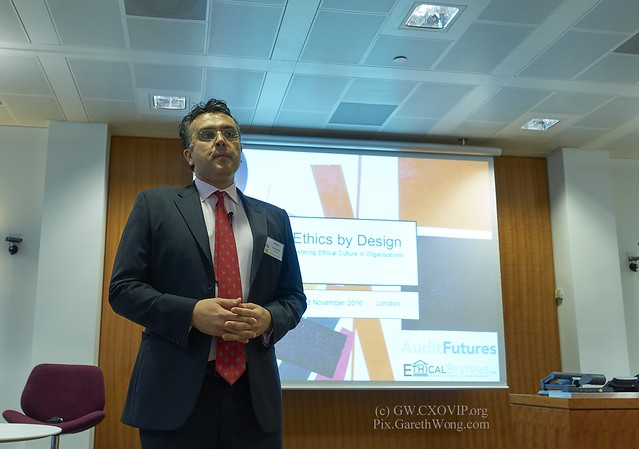 Martin Martinoff, Programme Manager, AuditFutures, Technical Strategy Department, ICAEW, Ethics by design, Hosted by Chicago Booth Business School, November 2016 from RAW via CaptureOne