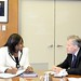 Secretary General Meets with Director of Pan American Health Organization