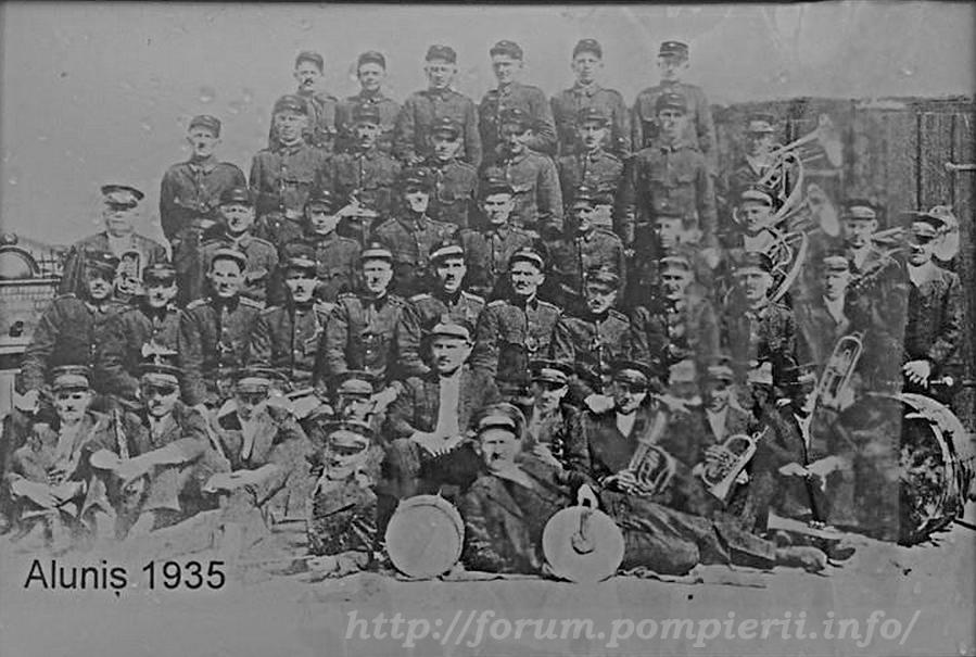 pompieri voluntari Aluniș /Arad -1935