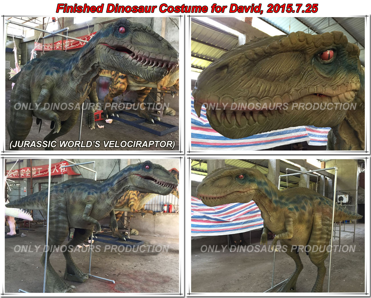 Dinosaur Costume Making Process-02