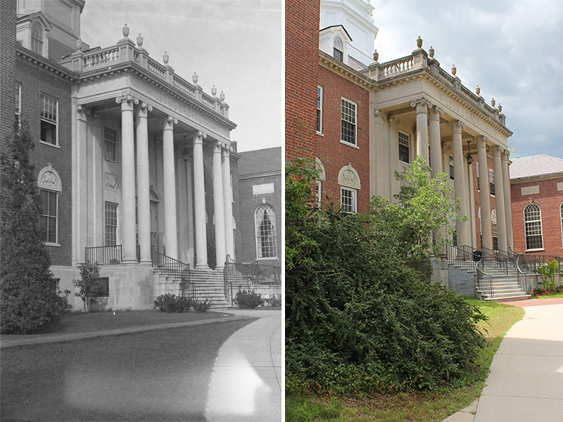 Wilbur Cross: Then and Now