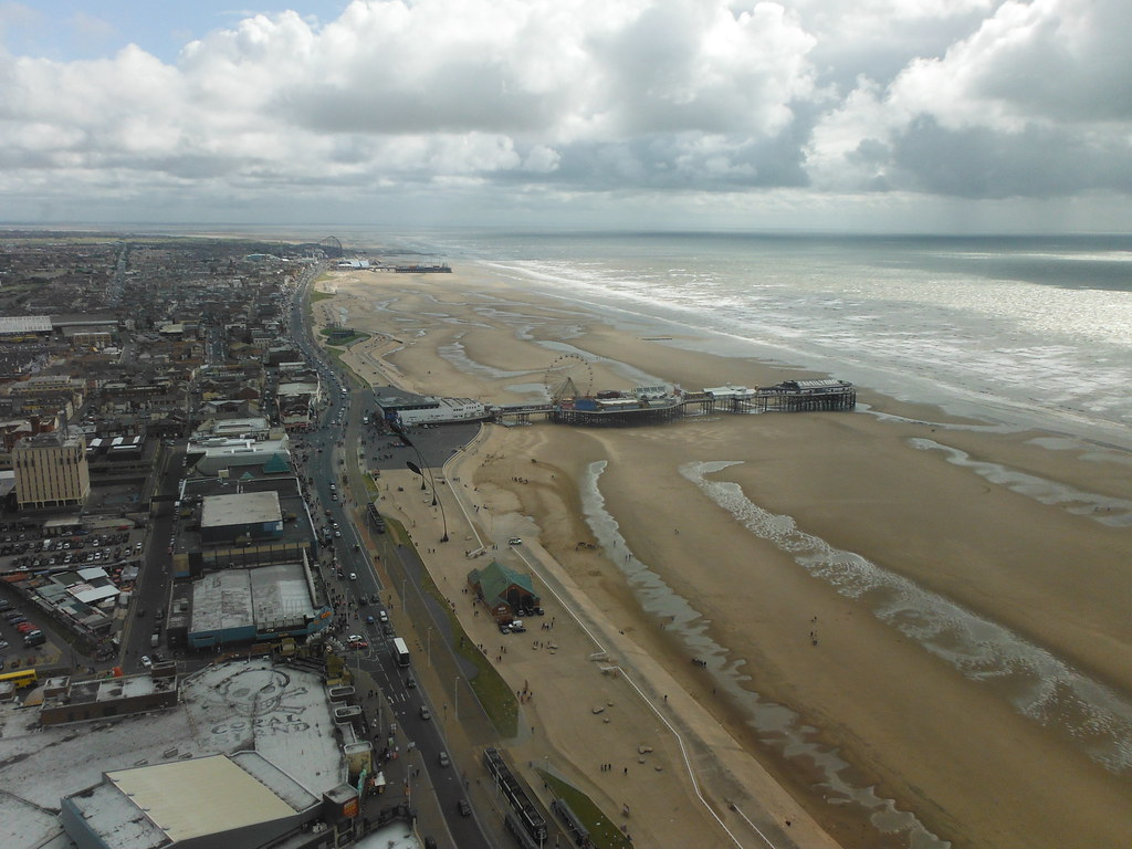 View From Blackpool Tower 6