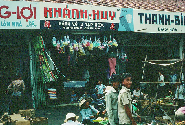 Shops, Vung Tau - Photo supplied by Mal Brand [1967]