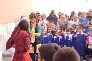 Noicattaro. Primo giorno scuola De Gasperi front