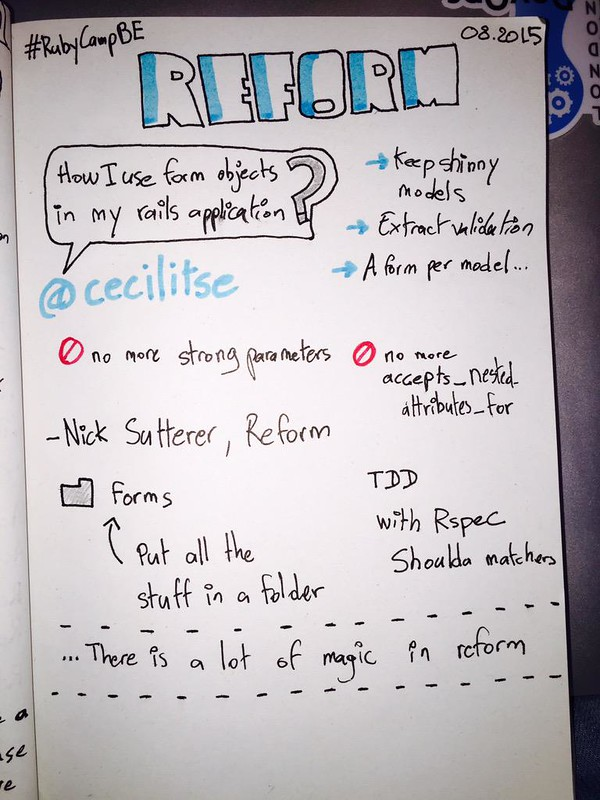sketchnote reform with ruby on rails