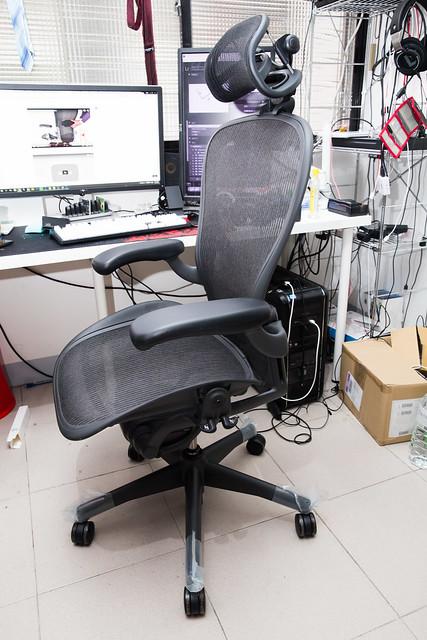 頂級電腦椅 Herman Miller Aeron 阿輝分享 (2) 入手使用感分享 &常見問答 @3C 達人廖阿輝
