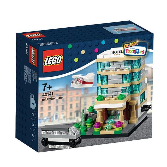 LEGO Toys R Us Bricktober 2015: 40141 - Bricktober Hotel