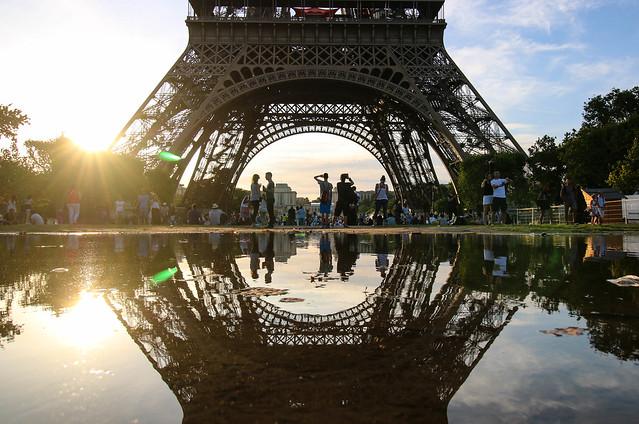 Reflejo de Eiffel