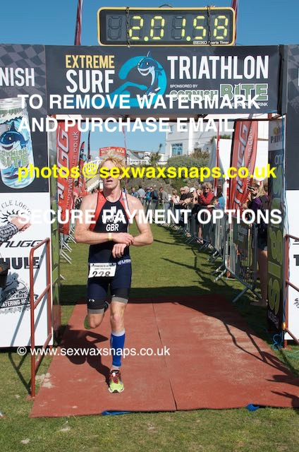 Perranporth Triathlon 2015 - Finish & Recovery
