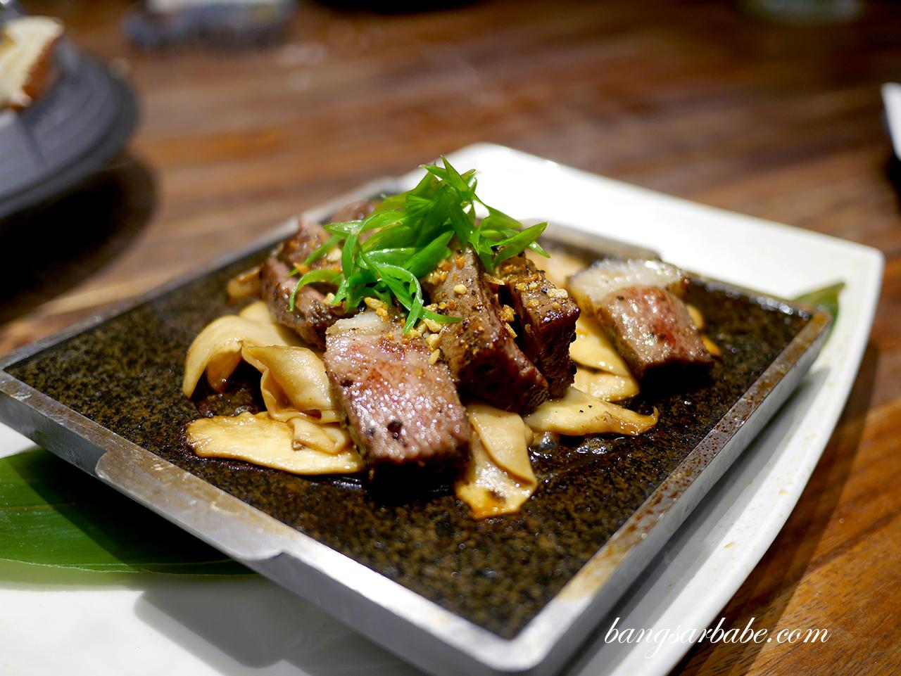 Wagyu Teppanyaki 2
