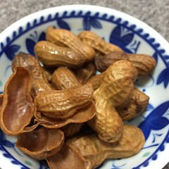 boiled peanuts♡  #boiledpeanuts #japan #hawaii #snacks #pupus