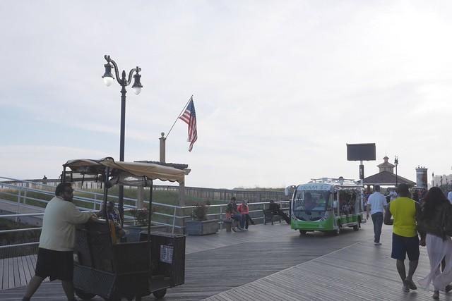 土, 2015-09-05 17:49 - Atlantic Cityのボードウォーク