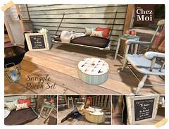 Snuggle Porch Set CHEZ MOI