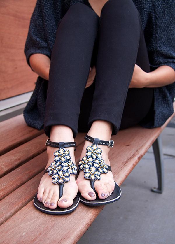 flower-sandals