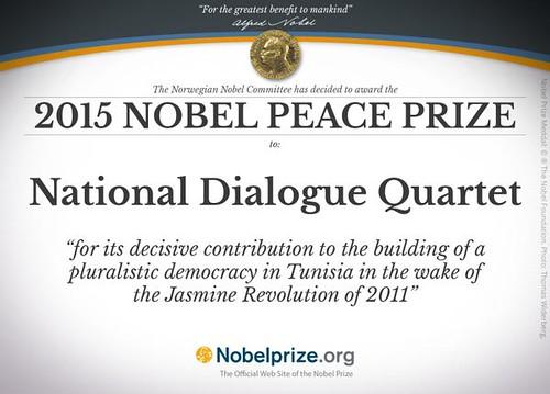 Tunisia's Quartet Reacts to Nobel Prize Amidst Praise and Plaudits