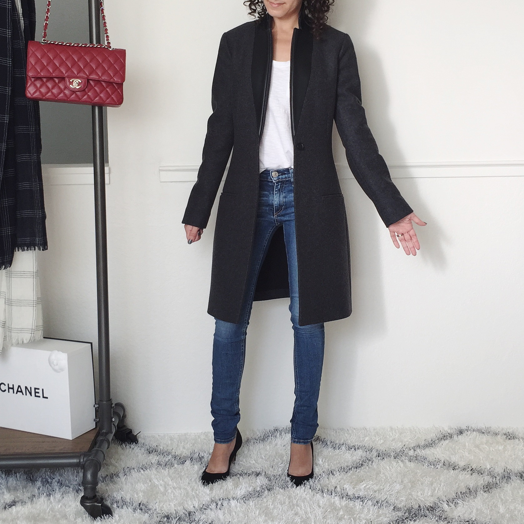 petite allsaints coat review
