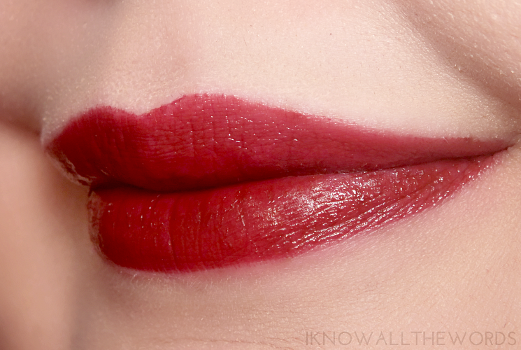 Arbonne Smoothed Over Lipstick in Dahlia