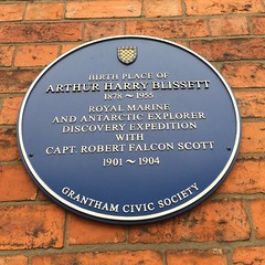 Photo of Arthur Harry Blissett blue plaque