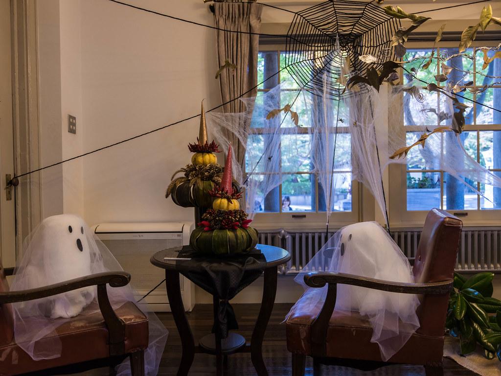 山手西洋館ハロウィン装飾⑧