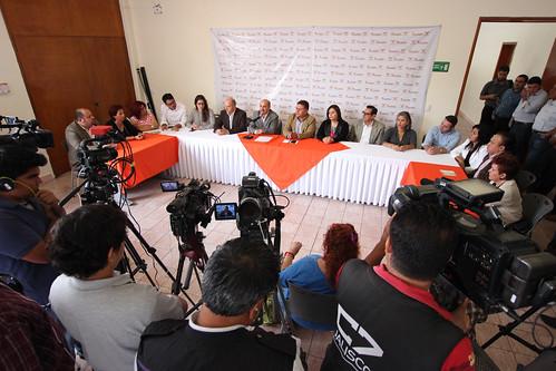 28 Octubre 2015 Rueda de prensa sobre la agenda legislativa de  la fracció de MC
