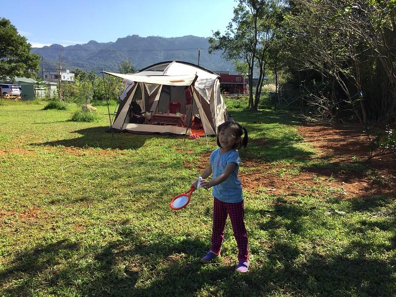 打羽毛球的寶妹