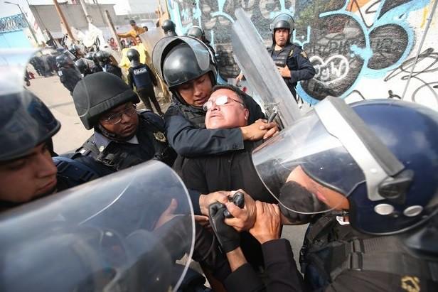 Enfrentamiento por desalojo en predio de Iztapalapa