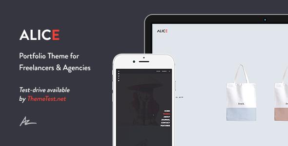 Alice v2.0.4.1 – Agency & Freelance Portfolio Theme