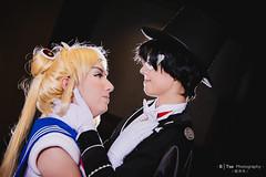 Sailor Moon (美少女戦士セーラームーン) & Tuxedo Mask (タキシード仮面)