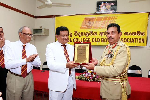 MajGen. Jagath Dias felicitating event