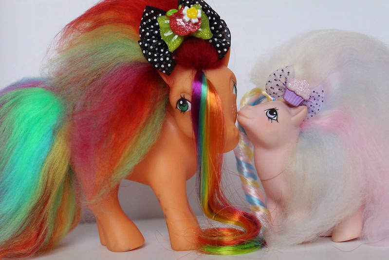Perfume Puff Princess Custom Ponies