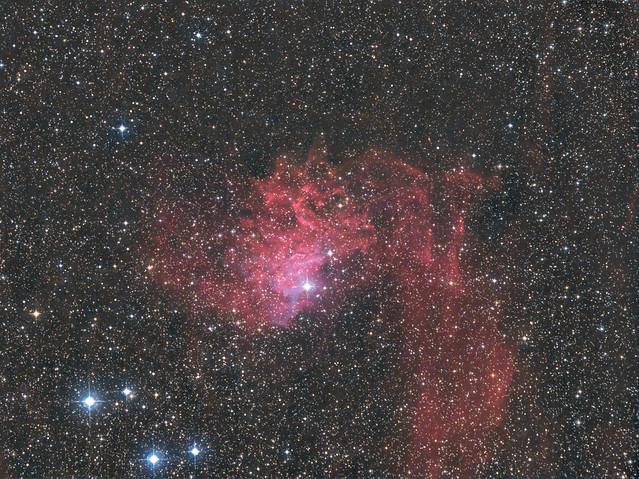 IC 405(Sh2-229、Caldwell 31)