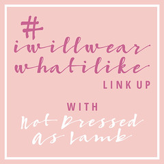 #iwillwearwhatilike | Not Dressed As Lamb