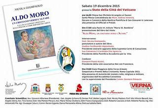 Rutigliano- Giampaolo presenta il libro su Aldo Moro in Vaticano